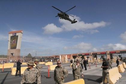 El Pentágono envía más efectivos a la frontera con México