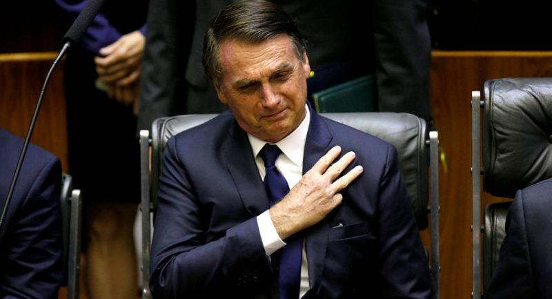 El líder de extrema derecha, Jair Bolsonaro. asume la presidencia de Brasil