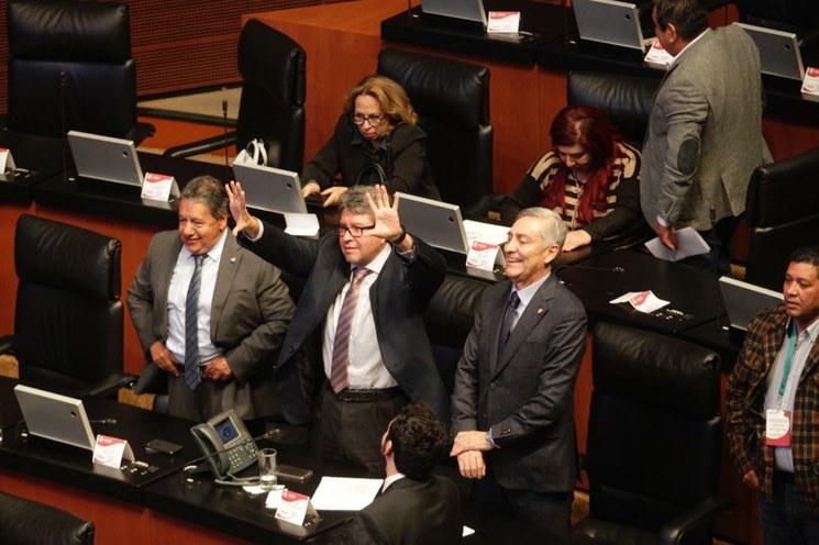 Senado modificará minuta sobre la Guardia: Monreal