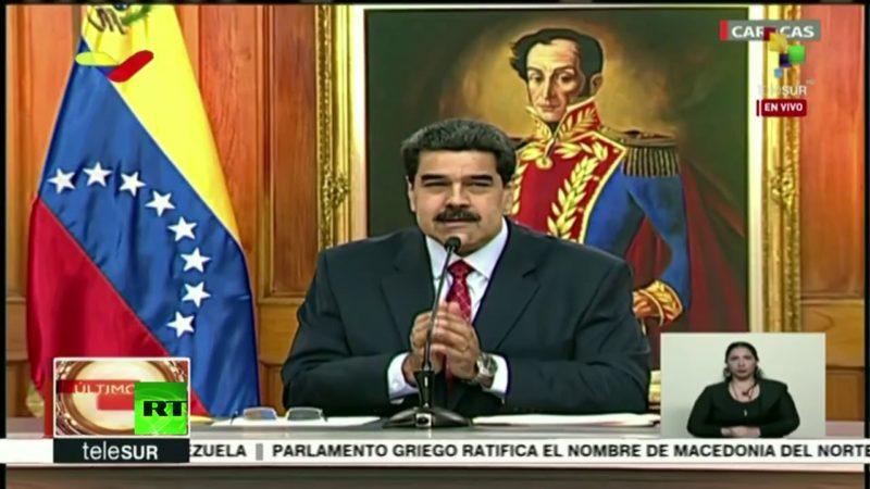 EN VIVO: Rueda de prensa internacional de Nicolás Maduro sobre la situación política en Venezuela