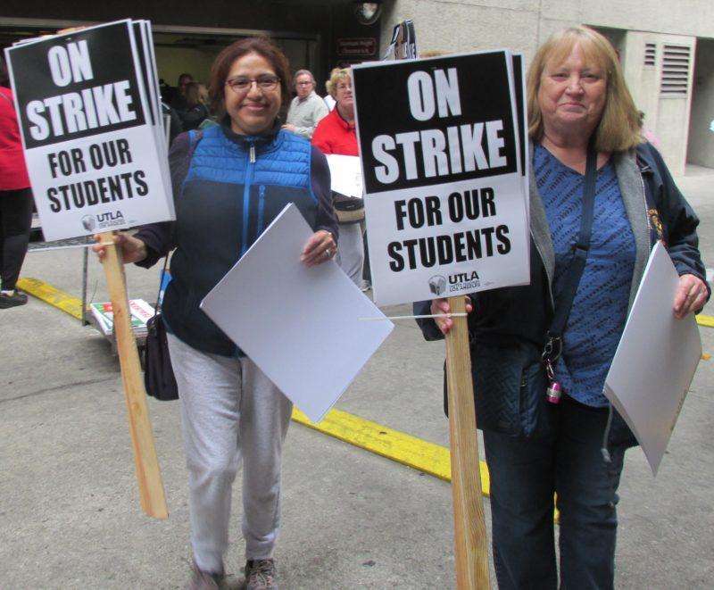 Los maestros angelinos quieren iniciar la huelga el jueves, pero en caso de verse impedidos por maniobras legales del superintendente Beutner, la harían el lunes próximo
