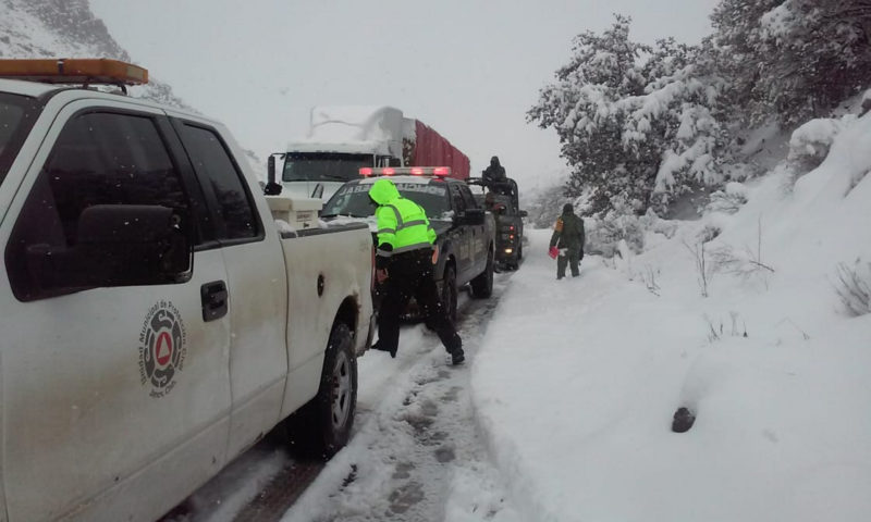 Prevén nieve en el norte del país por sexta tormenta invernal