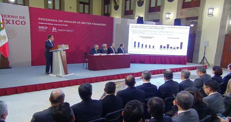 Hacienda y banqueros anuncian programa financiero para atacar la desigualdad en México