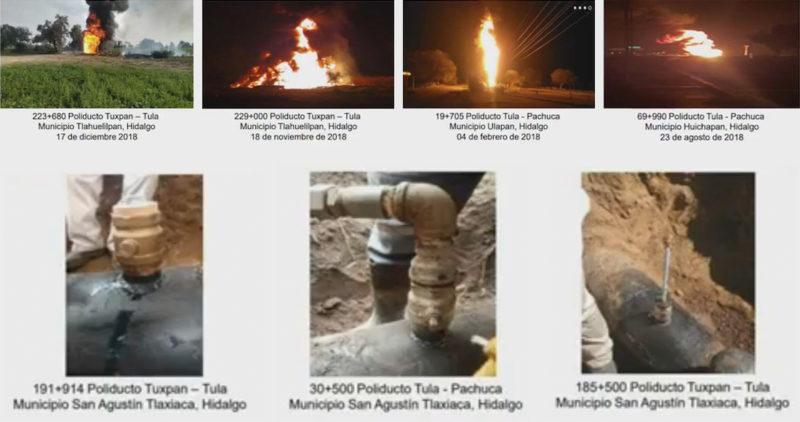 Van 89 muertos por la explosión. 4 ductos cruzan Tlahuelilpan; el saqueo crece año con año: Pemex