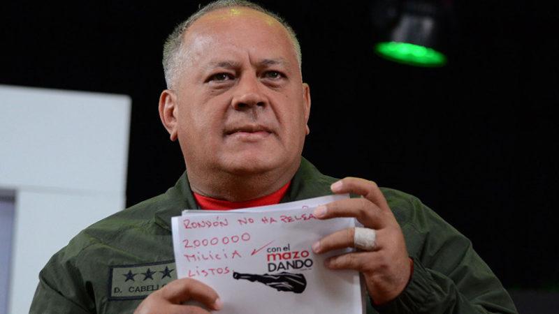 Videos: Venezuela prepara a dos millones de milicianos para hacer frente a cualquier intervención militar