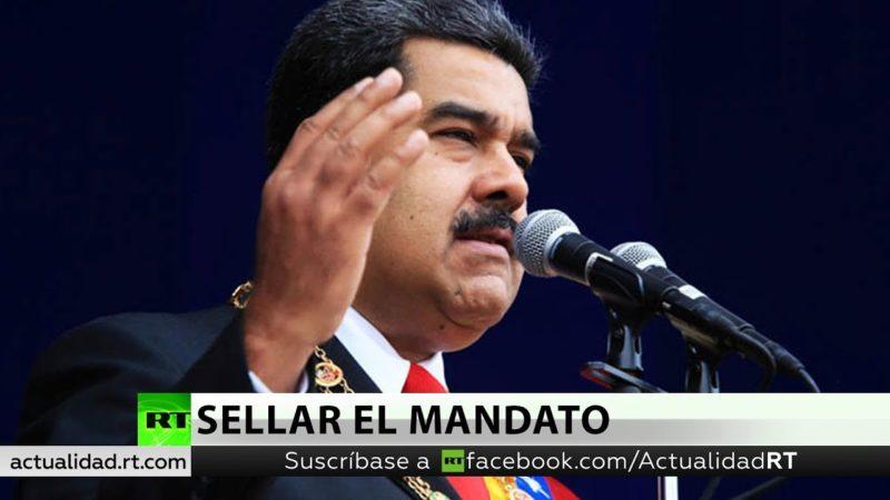 Videos: Maduro jura para un nuevo período presidencial