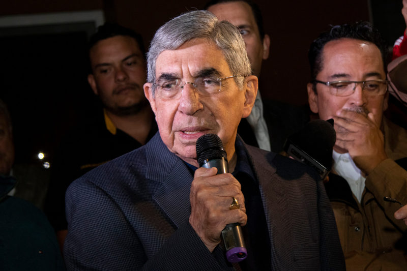 Óscar Arias: fin del mito