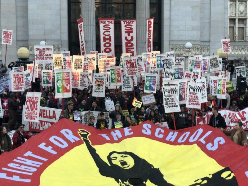 La huelga de maestros de Oakland estallaría el próximo día 15; afirman que mucho tienen que aprender de docentes angelinos