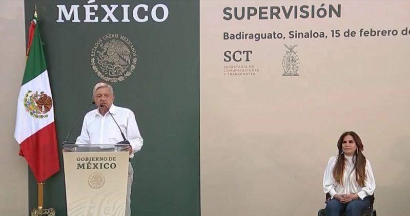 Video: Badiraguato no tiene porque ser estigmatizado: AMLO. Anuncia que la tierra del 'Chapo' tendrá una universidad y programas para desarrollo para su población