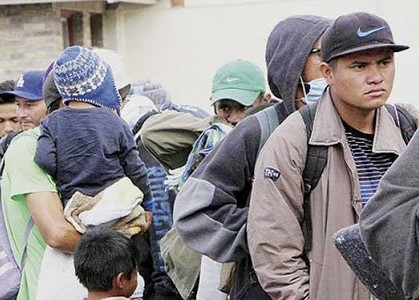 Video: Uniformados mexicanos impiden que centroamericanos crucen de manera ilegal, en Piedras Negras