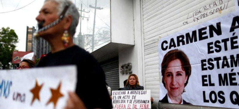 Video: MVS obtuvo del gobierno recursos por $6 mil millones tras el retiro de Aristegui