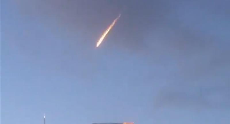 Videos: Una bola de fuego en el cielo asusta a los residentes de Los Ángeles