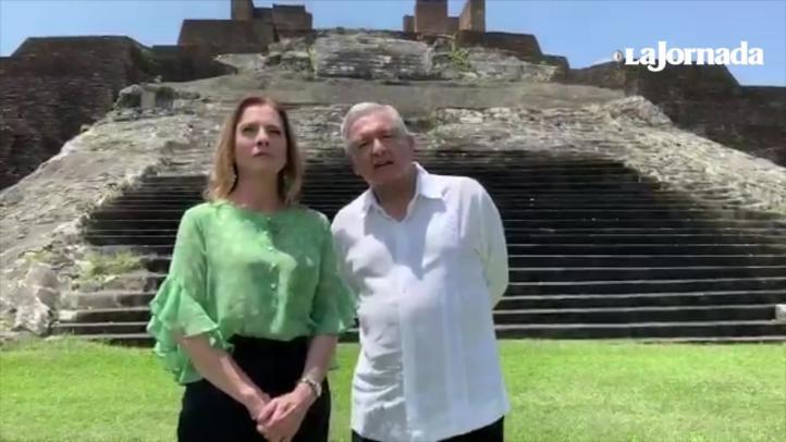 Videos: Las cartas al Rey de España y al Papa Francisco para que pidan perdón, a fin de iniciar reconciliación no para resucitar viejos diferendos: AMLO