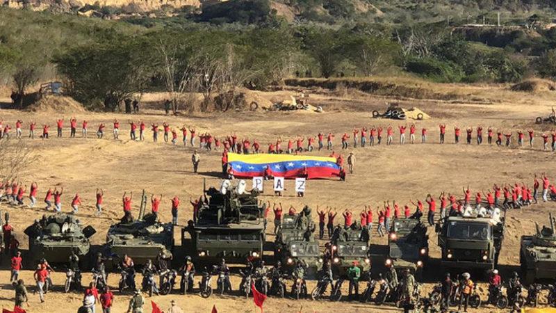 Cuadrillas venezolanas de paz realizan ejercicios de defensa en todo el país