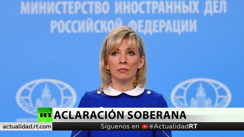 """Videos: """"Ni Rusia ni Venezuela son provincias de EE.UU."""": Kremlin. No abandonará a chavistas"""