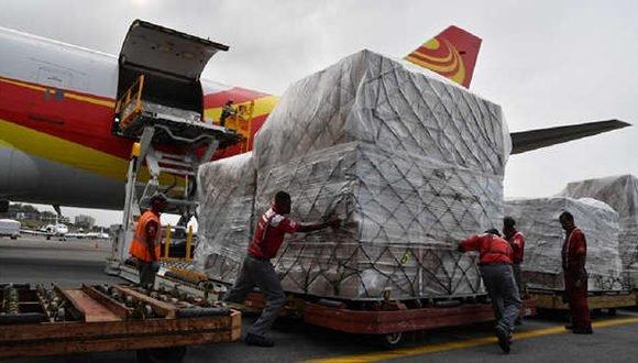 Videos: China envía a Venezuela 65 toneladas de medicina e insumos. Cruz Roja empezará a entregar ayuda humanitaria dentro de 15 días