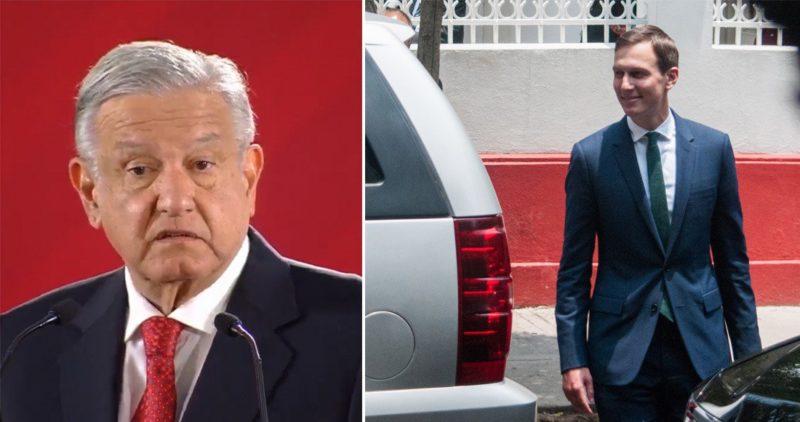 Video: AMLO se reunió con el yerno y asesor de Trump para avanzar en el acuerdo de cooperación que generará una derrama de 10 mil millones de de dólares para México y Centroamérica