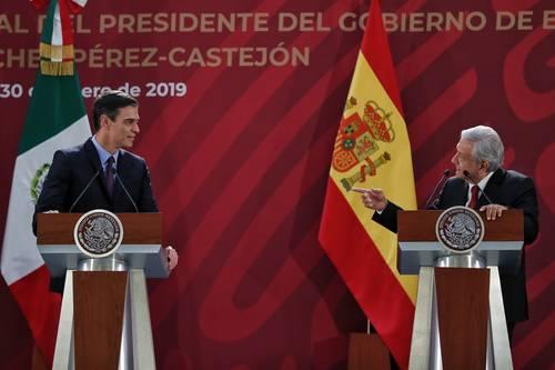 Descarta AMLO confrontación con el gobierno de España