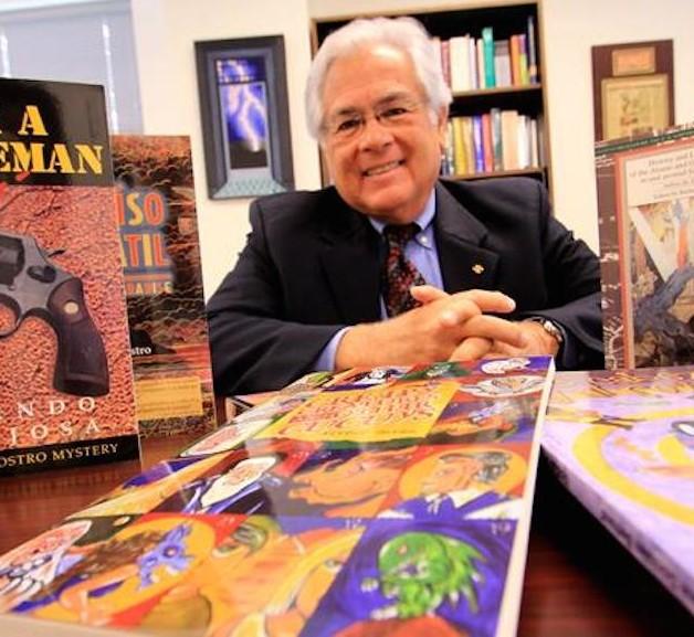 Obras de autores latinos en EU carecen de una estructura que las promueva: Nicolás Kanellos, fundador de Arte Público Press
