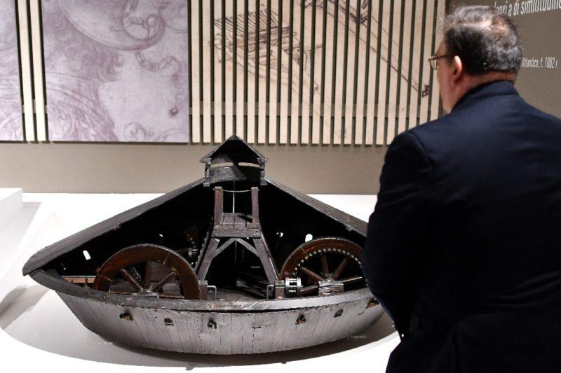 Video: Italia conmemora los 500 años de la muerte de Leonardo Da Vinci