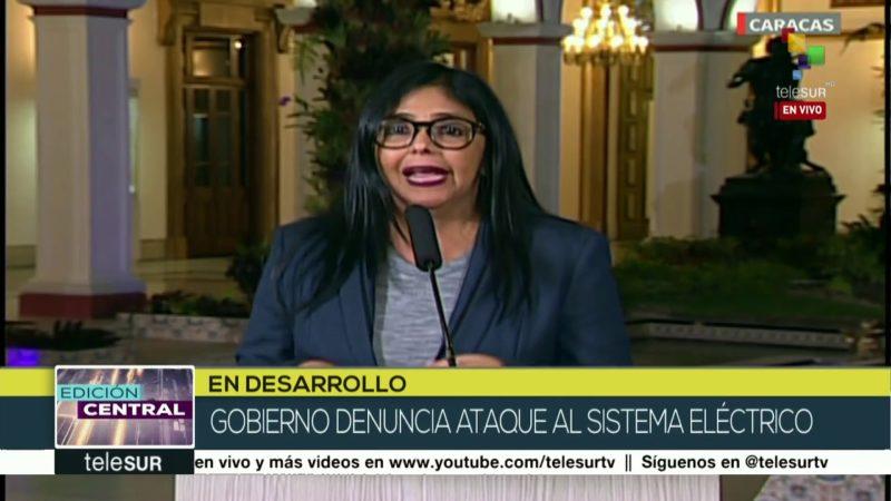Gobierno venezolano denuncia nuevo ataque a su sistema de energía eléctrica