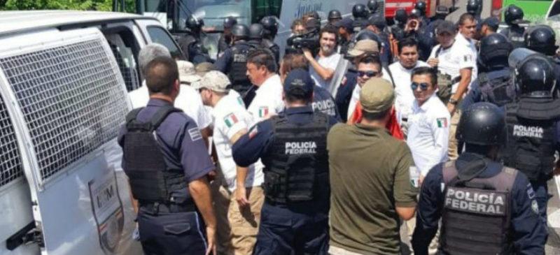 Rescatan a 34 migrantes centroamericanos en Tamaulipas
