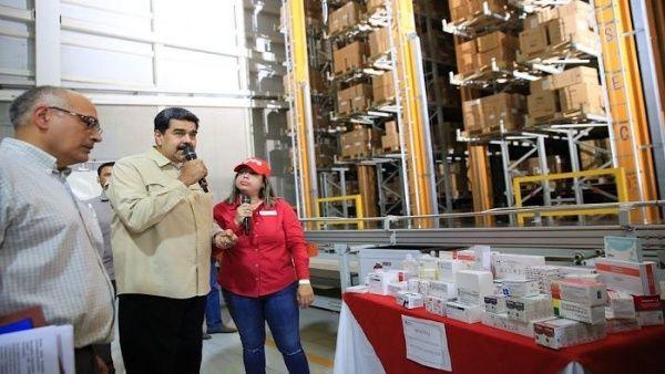 Maduro: EE.UU. retiene 5 mil millones de dolares para medicamentos. Ayuda rusa, la semana entrante