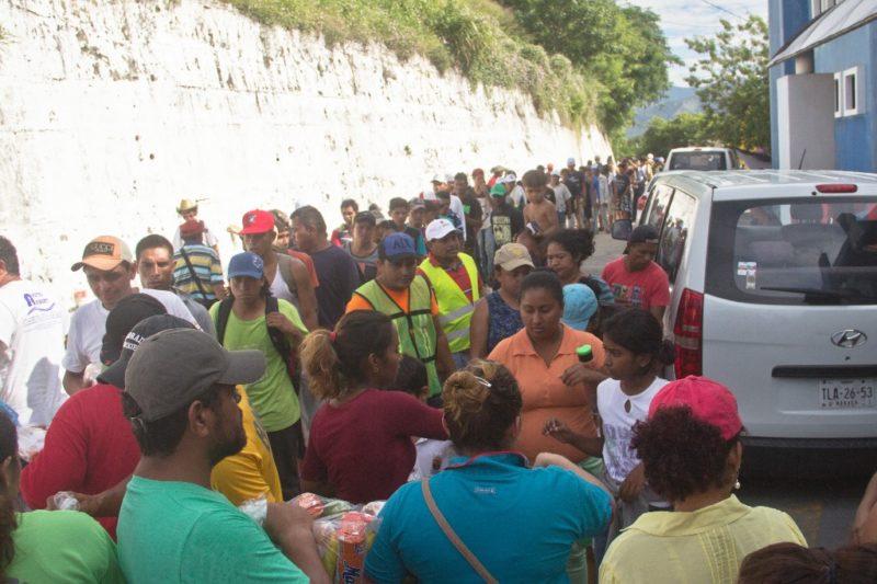 La frontera sur, desbordada por oleada de migrantes, y la del norte, en colapso por grupos criminales, afirma la titular de Gobernación