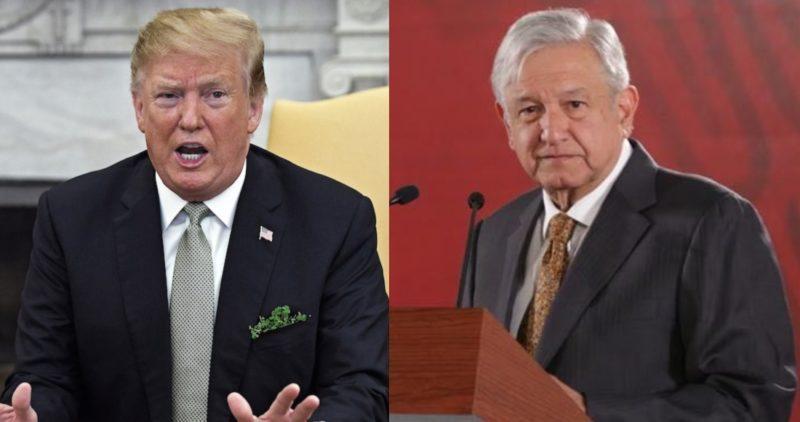 """""""México no hace nada para frenar migrantes"""": Trump; el mexicano ya no está migrando, dice AMLO"""
