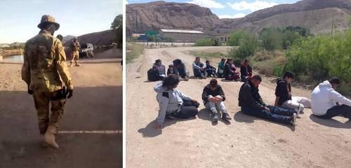 Video: Milicia pro Trump 'caza' 300 migrantes en Nuevo México