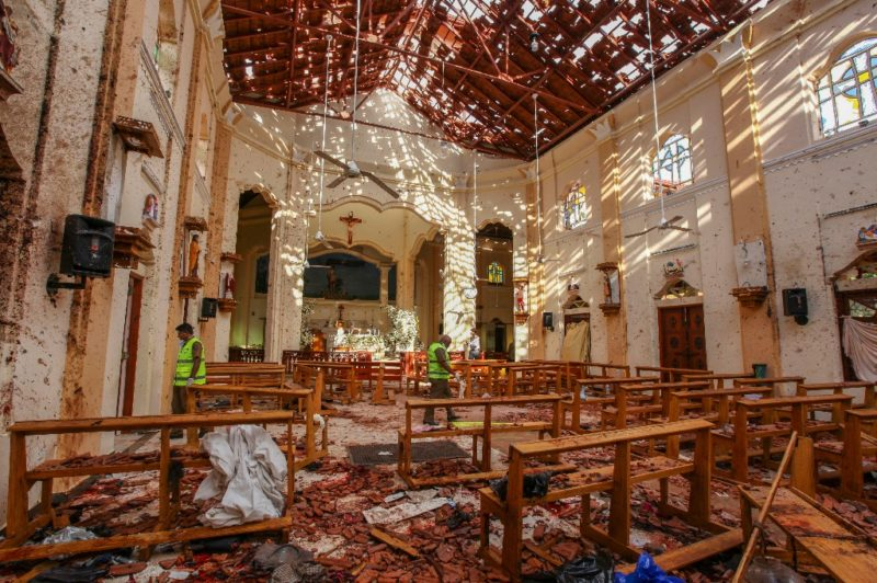 207 muertos y más de 450 heridos en ocho atentados a hoteles e iglesias en Sri Lanka