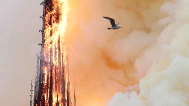 No sólo Notre Dame: un 15 de abril se hundió el Titanic, mataron a Lincoln, terroristas atacaron Boston…