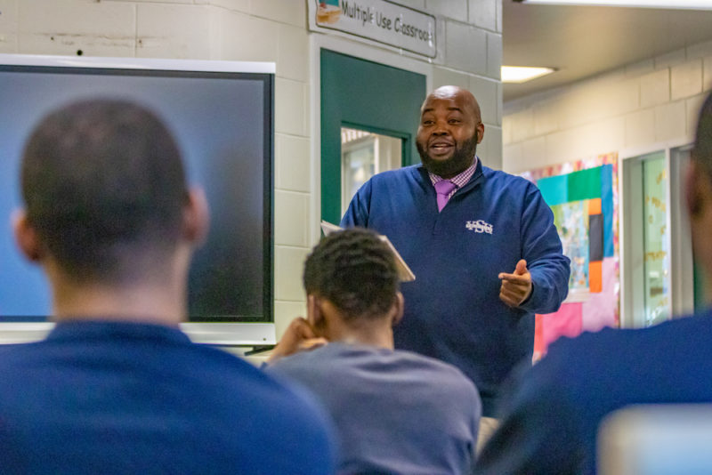 Rodney Robinson Named 2019 National Teacher of the Year