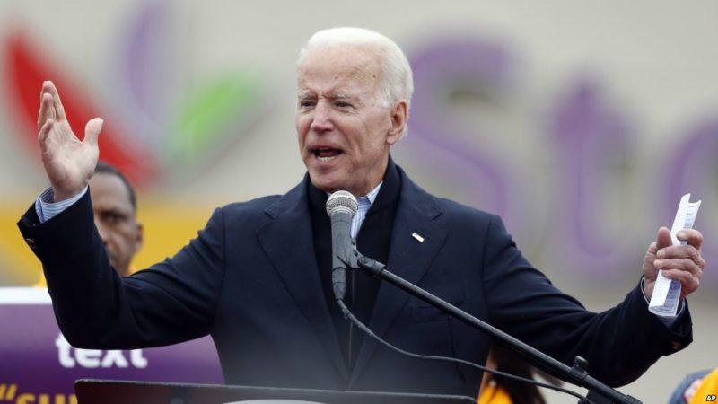 Video: El ex vicepresidente Joe Biden anuncia su candidatura a la presidencia para 2020