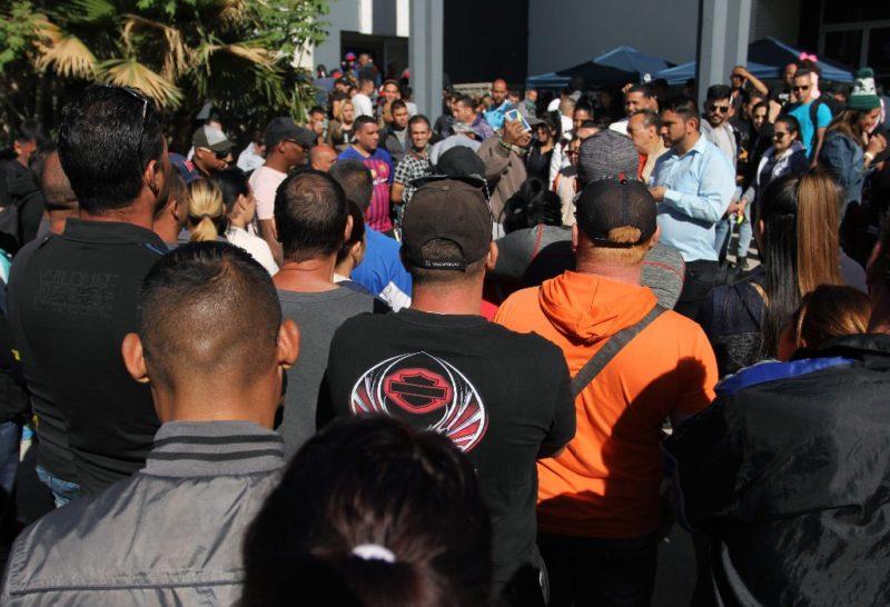 Unos mil cubanos arribaron a Ciudad Juárez y otros 400 se encuentran en el sureste mexicano