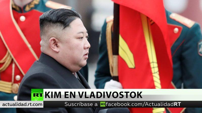 Videos: Cumbre histórica: Kim Jong-un llega en tren blindado a Vladivostok para reunirse por primera vez con Vladímir Putin