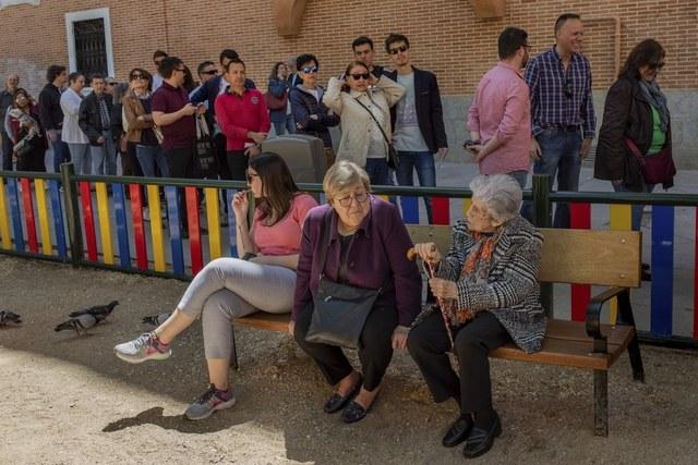 Histórica asistencia a las urnas en España