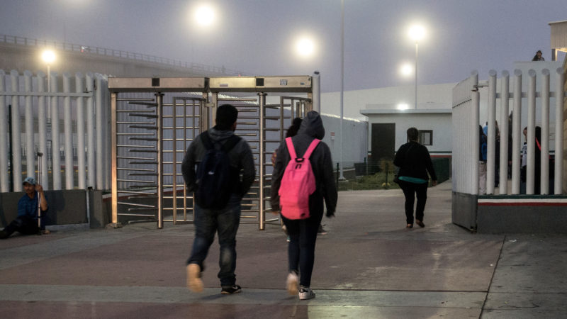 For Some Students, Getting an Education Means Crossing Daily the Border