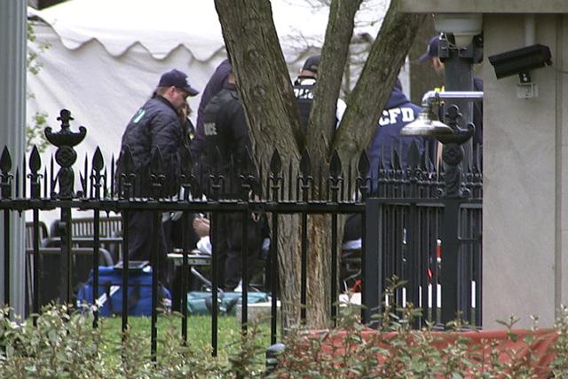 Hombre se prende fuego frente a la Casa Blanca
