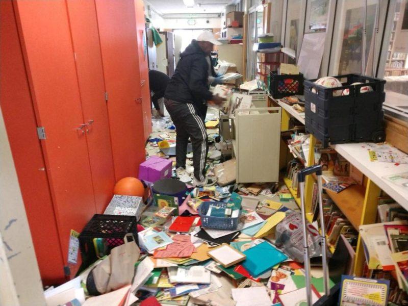 """Terrible caso de vandalismo"": destrozan escuela en un barrio hispano de Oakland"