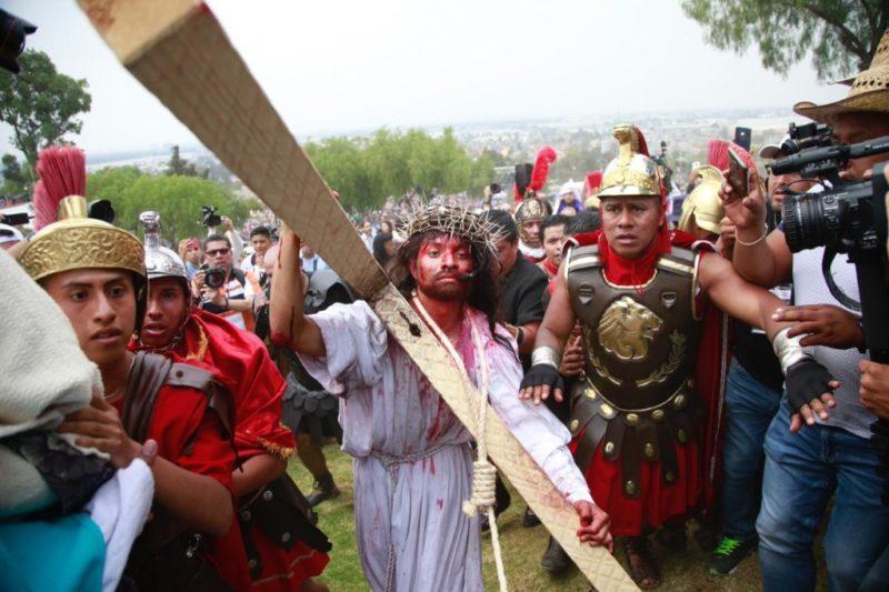 La Pasión de Cristo en Iztapalapa, sin incidentes; acudieron más de dos millones de personas