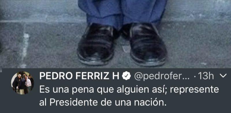 Tunden en redes a Pedro Ferriz por criticar zapatos austeros de AMLO