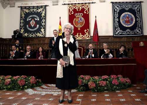 El Quijote, fenesí poético, dice la Ida Vitale, ganadora del Premio Cervantes