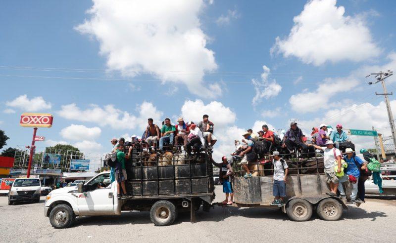 Redes sociales, el nuevo método para formar caravanas migrantes