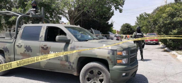 Balacera entre policías y delincuentes en Saltillo; al menos nueve muertos