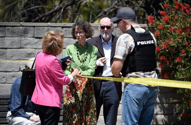 Tiroteo en sinagoga en Poway; un muerto y tres heridos