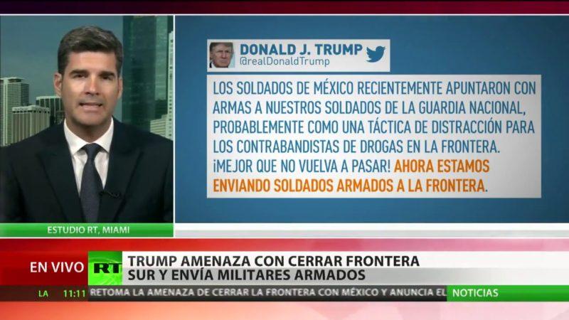 """Video: Gobierno de López Obrador atribuye a una """"confusión"""" el incidente de militares mexicanos con estadounidenses en la frontera"""