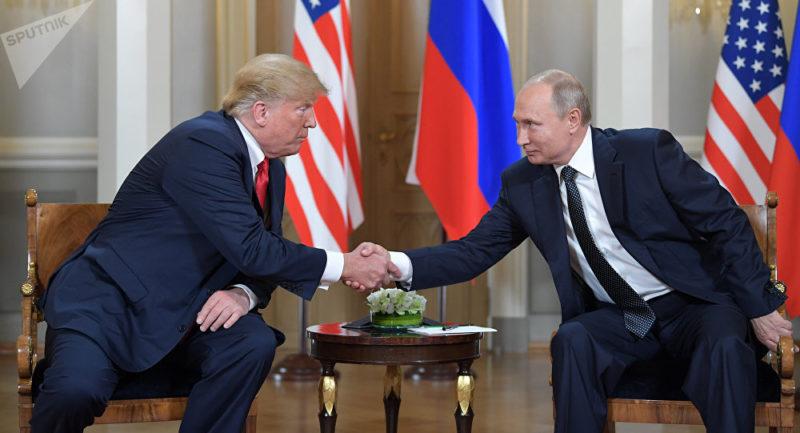 Trump y Putin discuten la posibilidad de un nuevo acuerdo nuclear y la situación en Venezuela