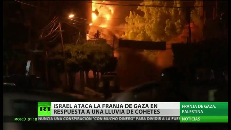 120 blancos destruidos en Gaza en respuesta a más de 400 misiles: Israel y Palestina reavivan la escalada de violencia
