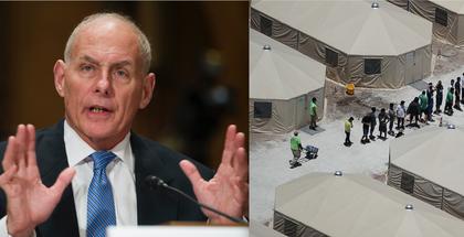 John Kelly, ex jefe de gabinete de Trump, directivo de una empresa que opera el mayor refugio de EU para menores migrantes solos